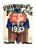 Vanity Fair Cover - January 1935 Regular Giclee Print by Miguel Covarrubias
