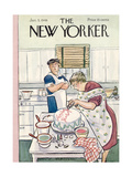 The New Yorker Cover - January 5, 1946 Giclee Print by Helen E. Hokinson