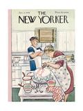 The New Yorker Cover - January 5, 1946 Regular Giclee Print by Helen E. Hokinson