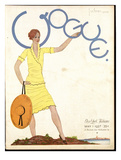 Vogue Cover - May 1927 Giclee Print by Georges Lepape