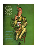 GQ Cover - October 1963 Regular Giclee Print by Chadwick Hall
