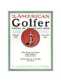 The American Golfer February 1926 Giclee Print