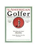 The American Golfer February 1926 Giclee Print