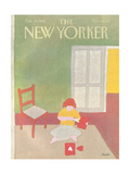 The New Yorker Cover - February 15, 1982 Regular Giclee Print by Heidi Goennel