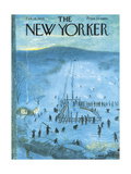 The New Yorker Cover - February 18, 1956 Giclee Print by Garrett Price