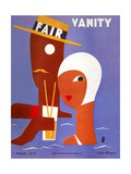 Vanity Fair Cover - August 1929 Regular Giclee Print by Eduardo Garcia Benito