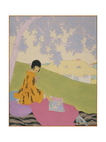 Vogue - June 1919 Regular Giclee Print by Helen Dryden