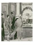"Vogue - April 1929 Giclee Print by Carl ""Eric"" Erickson"
