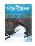 The New Yorker Cover - January 7, 1974 Regular Giclee Print by Charles E. Martin