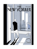 The New Yorker Cover - September 13, 2004 Giclee Print by Istvan Banyai