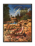 Gourmet Cover - May 1954 Regular Giclee Print by Henry Stahlhut