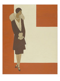 Vogue Regular Giclee Print by Polly Tigue Francis