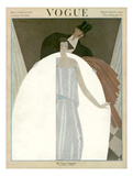 Vogue Cover - March 1922 Regular Giclee Print by Georges Lepape