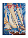 The New Yorker Cover - July 9, 1949 Giclee Print by Garrett Price