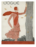 Vogue Cover - August 1929 Giclee Print by Georges Lepape