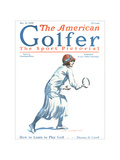 The American Golfer May 16, 1925 Regular Giclee Print by James Montgomery Flagg