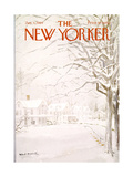 The New Yorker Cover - January 4, 1969 Regular Giclee Print by Albert Hubbell