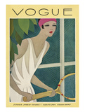 Vogue Cover - July 1927 Giclee Print by Harriet Meserole