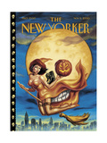 New Yorker Cover - November 06, 2000 Regular Giclee Print by Owen Smith