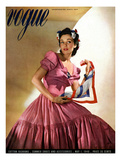 Vogue Cover - May 1940 Regular Giclee Print by Horst P. Horst