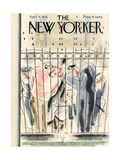 The New Yorker Cover - April 6, 1935 Regular Giclee Print by Leonard Dove