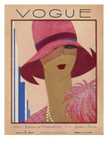 Vogue Cover - May 1927 Giclee Print by Harriet Meserole