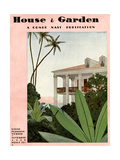 House & Garden Cover - November 1930 Giclee Print by André E. Marty