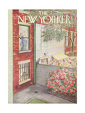 The New Yorker Cover - June 18, 1955 Giclee Print by Mary Petty