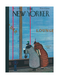 The New Yorker Cover - December 5, 1936 Giclee Print by Arnold Hall