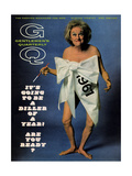 GQ Cover - December 1966 Giclee Print by Carl Fischer