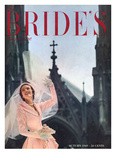 Brides Cover - August, 1949 Regular Giclee Print by Maria Martel