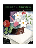 House & Garden Cover - May 1931 Giclee Print by Raymond Bret-Koch
