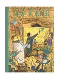 The New Yorker Cover - April 1, 1950 Giclee Print by Ludwig Bemelmans