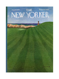 The New Yorker Cover - August 12, 1974 Regular Giclee Print by Albert Hubbell