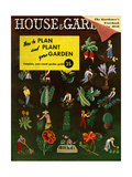 House & Garden Cover - January 1939 Regular Giclee Print by Ilonka Karasz