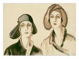 Vogue - November 1929 Regular Giclee Print by Porter Woodruff