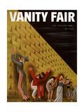 Vanity Fair Cover - June 1933 Giclee Print by Miguel Covarrubias