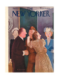 The New Yorker Cover - April 15, 1944 Regular Giclee Print by William Cotton