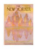 The New Yorker Cover - August 18, 1975 Regular Giclee Print by Eugène Mihaesco