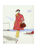 Vogue - May 1935 Regular Giclee Print av Christian Berard