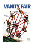 Vanity Fair Cover - May 1934 Regular Giclee Print by Constantin Alajalov