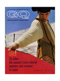 GQ Cover - October, 1961 Regular Giclee Print by Chadwick Hall