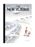 The New Yorker Cover - August 28, 2006 Regular Giclee Print by Ian Falconer
