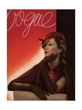 Vogue Cover - August 1933 Regular Giclee Print by George Hoyningen-Huené