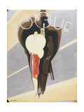 Vogue - November 1926 Regular Giclee Print by William Bolin
