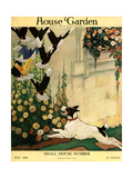 House & Garden Cover - July 1916 Regular Giclee Print by Charles Livingston Bull