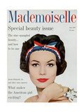 Mademoiselle Cover - June 1959 Regular Giclee Print by Mark Shaw