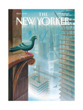 The New Yorker Cover - January 15, 2007 Regular Giclee Print by Eric Drooker