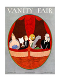 Vanity Fair Cover - December 1924 Regular Giclee Print by A. H. Fish