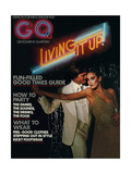 GQ Cover - December 1975 Gicl&#233;e-Druck von Chris Von Wangenheim